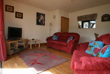 Living room of our self catering cottage in Snowdonia North Wales